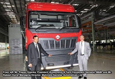 Mahindra Navistar Trucks Start Rolling Out Of Chakan Plant