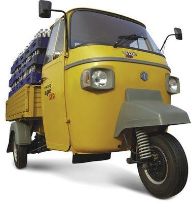 piaggio emerges market leader in three-wheeler segment