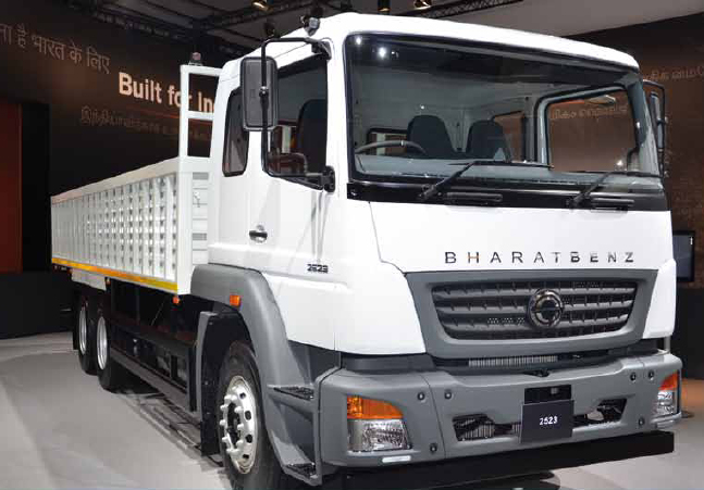 Bharatbenz for Define commercial motor vehicle