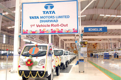 Tata Motors Dharwad Plant Starts Producing New Vehicle