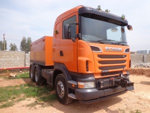 Scania unveils on-road trucks for India