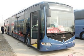 Scania foray into China's city bus market