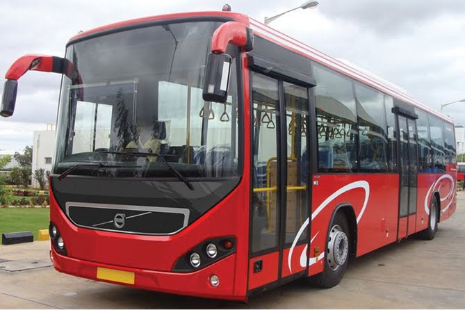 Volvo launches Euro 4 city bus with new front facia