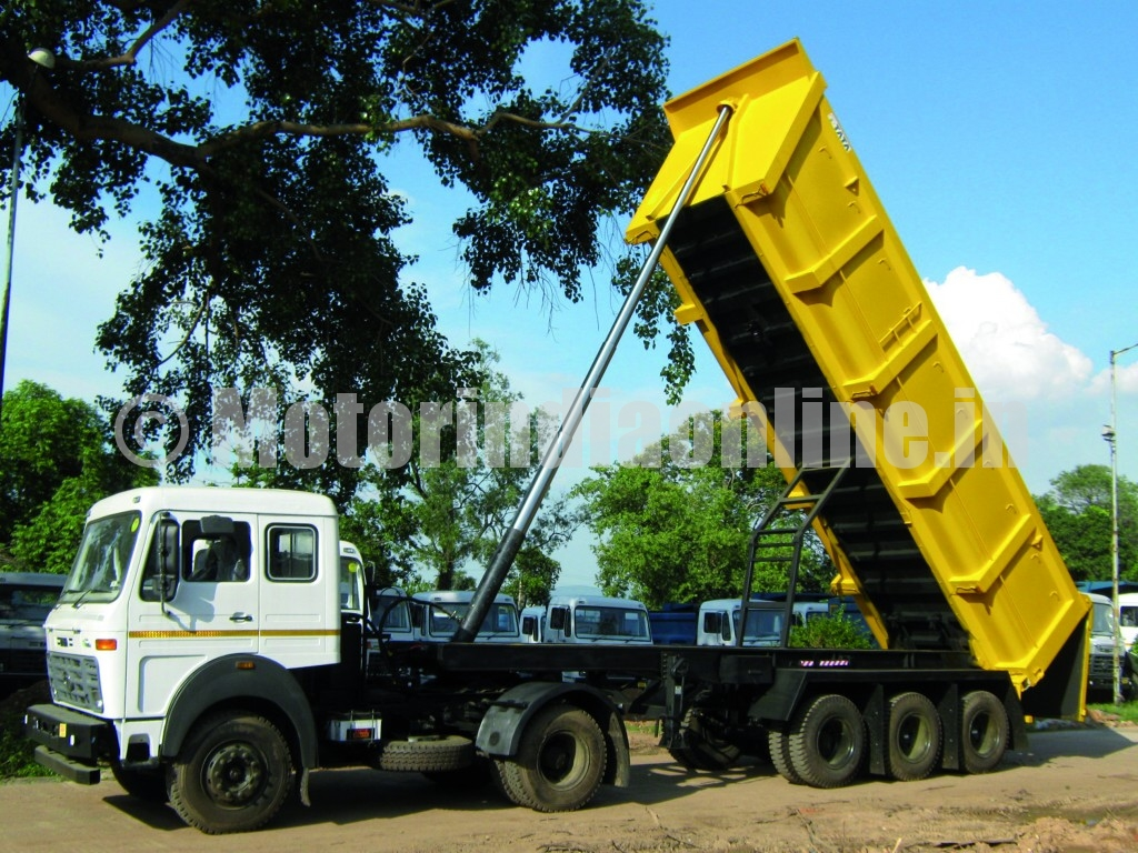 Tata Motors offering a range of ready-to-use tip trailers