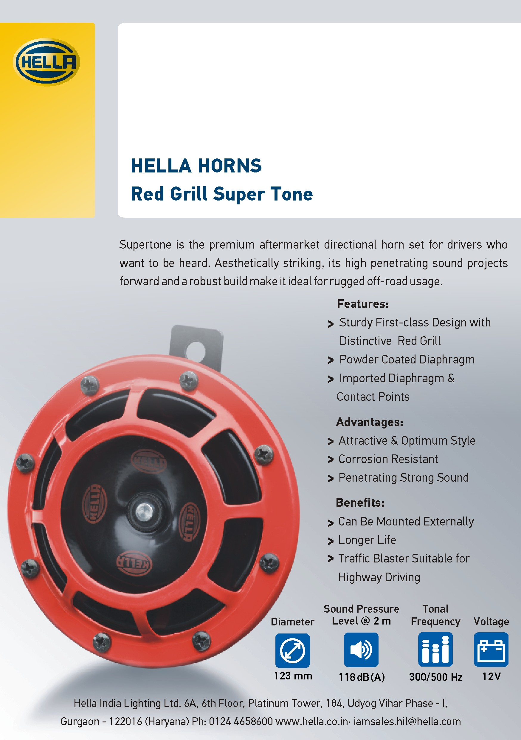 Red Grill Flyer