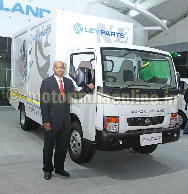 ASHOK LEYLAND's two new LCVs – PARTNER & MiTR