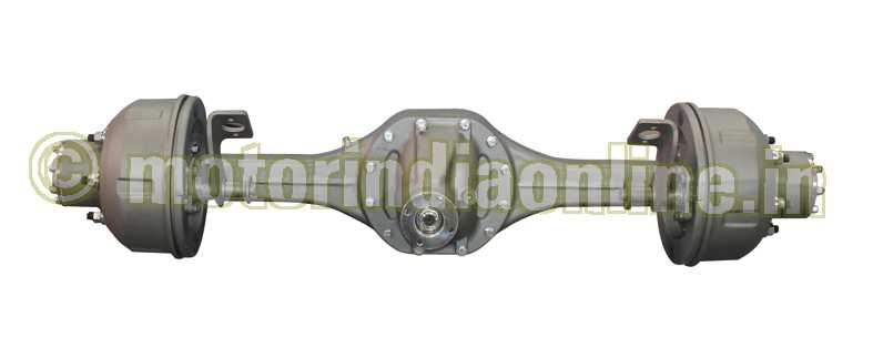 Meritor Drive Axle Parts : Meritor front axle india is meeting the