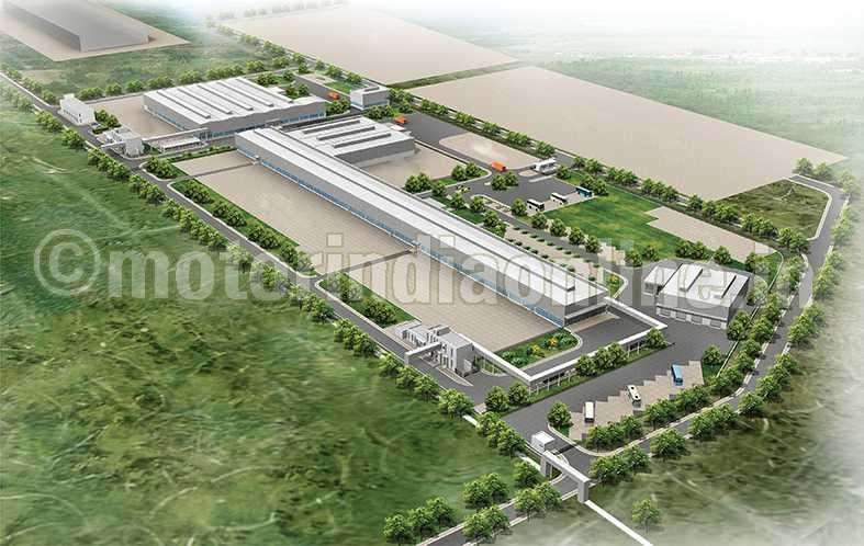 Daimler Lays Foundation For New Bus Plant At Oragadam