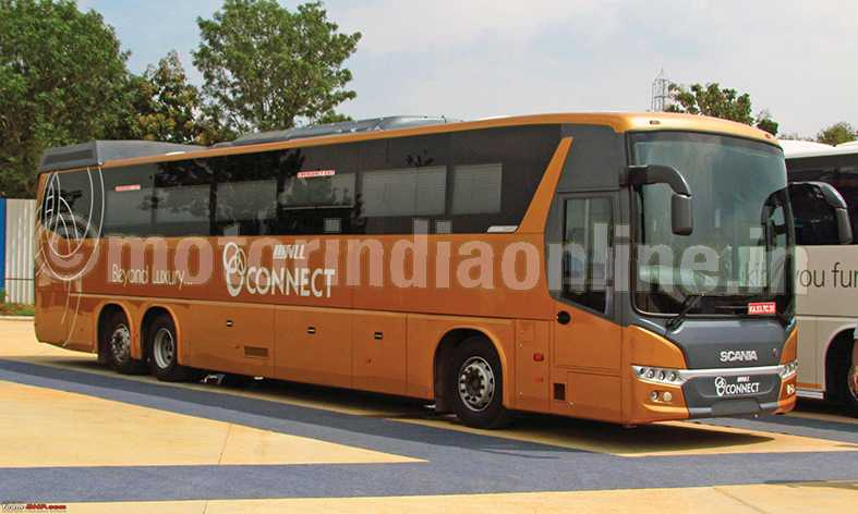 SVLL Connect flags off seven-star inter-city bus service