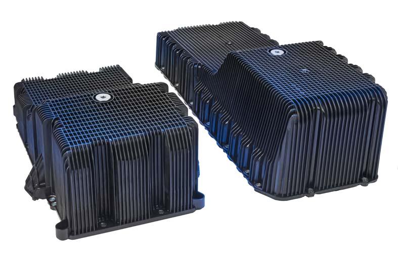 Eaton S New Plastic Oil Pans Enable Commercial Vehicle