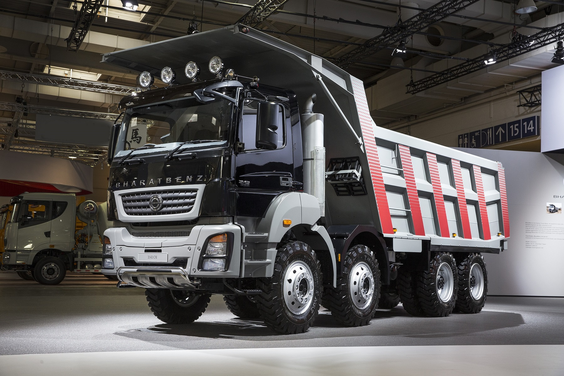 daimler premieres made in india trucks at iaa show. Black Bedroom Furniture Sets. Home Design Ideas