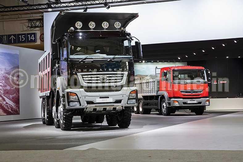 bharatbenz truck  Daimler-pic-3