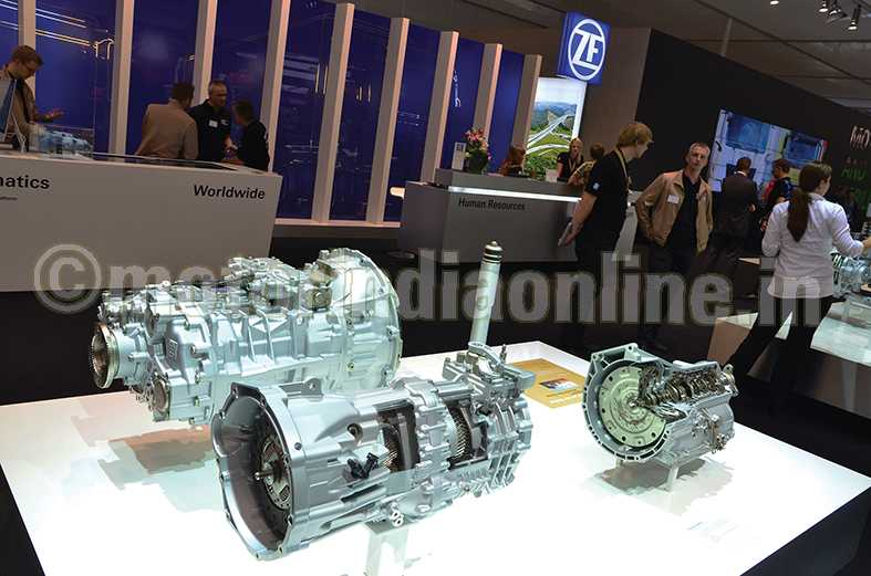 zf symbolishes cv competence for sustainable future transport
