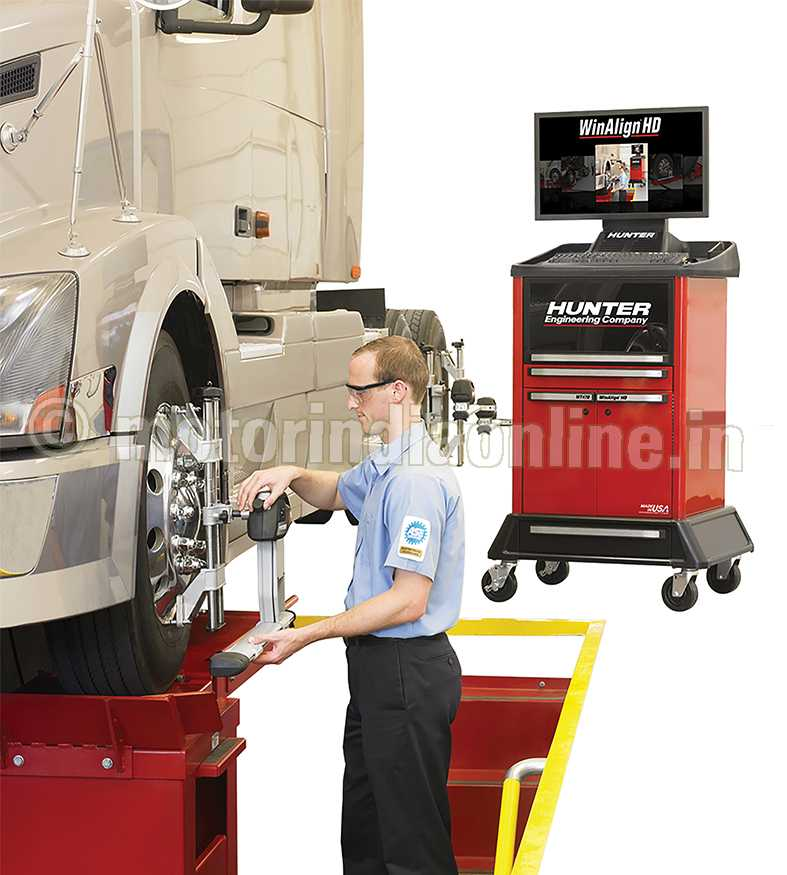 Hunter WinAlign HD Alignment Systems, A Generation Ahead