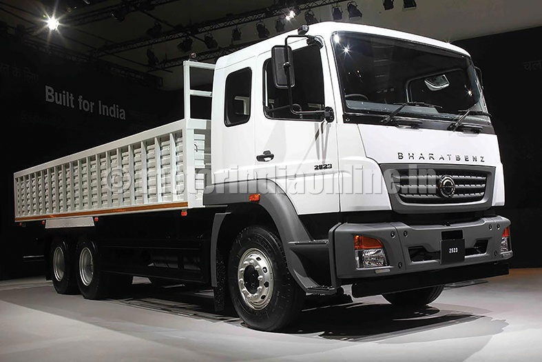 dicv launches bharatbenz trucks  opens dealership in nepal