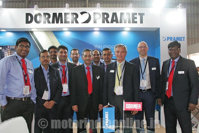 Dormer Pramet India's latest tools displayed at IMTEX 2015