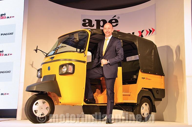 Piaggio Launches Ape Xtra Dlx
