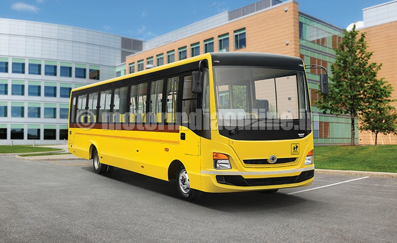 Bharatbenz Buses Ready For Indian Market