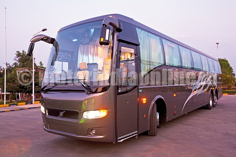 Volvo To Export Made In India Buses For Europe Motorindia