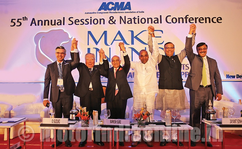 Component sector role in making 'Make in India' a reality stressed