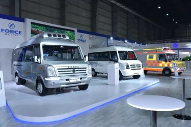Force Motors exhibits smart mobility solutions for tomorrow's India