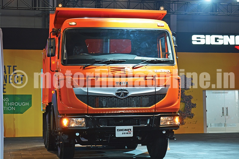 Tata Motors, India's largest commercial vehicle manufacturer launched its new SIGNA range of Medium & Heavy Commercial Vehicles, at the SIAM Auto Expo 2016.