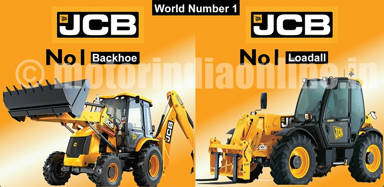 JCB's exponential growth with market leadership