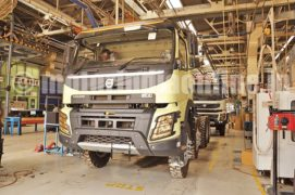 THE BEST GETS BETTER – Volvo FMX 440 8×4 i-shift tipper launched in India
