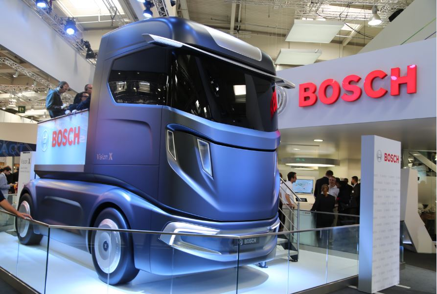 More Safety And Efficiency On The Road With Bosch