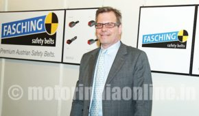 Fasching to commence seat belt production in India by 2018