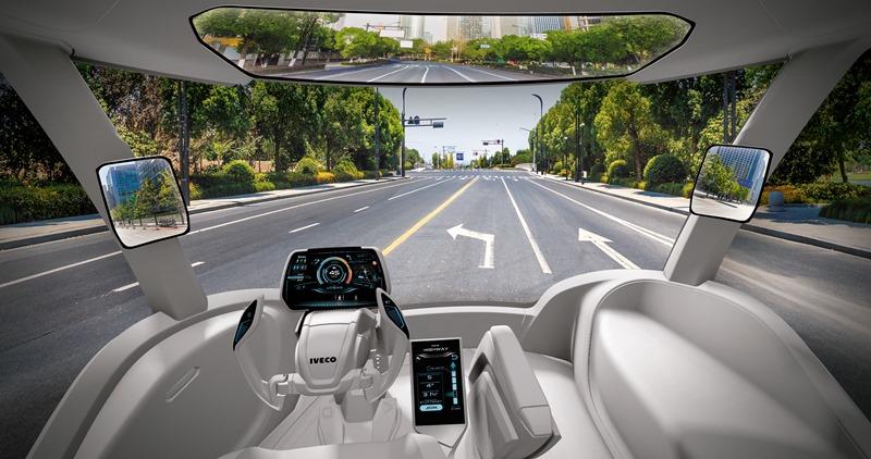 Iveco Presents Z Truck A Long Haul Zero Impact Concept