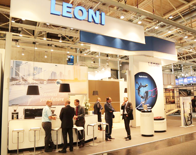 Leoni integrates LED functions into wiring system