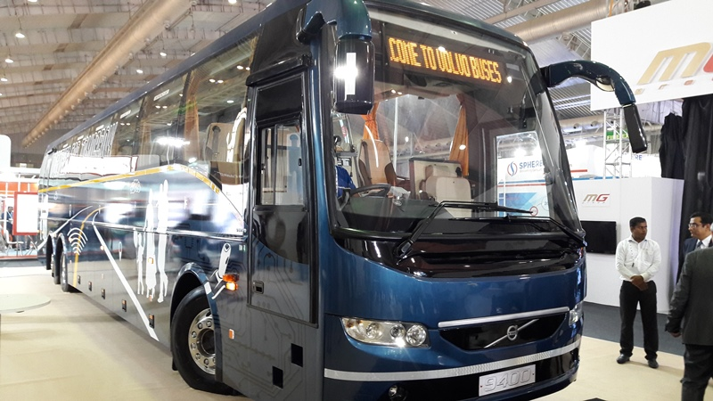 Volvo Buses unveil new BS IV range for Indian market