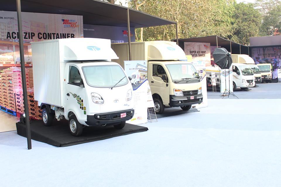 Tata motors presents 30 models at truck world in new delhi for Tata motors commercial vehicles