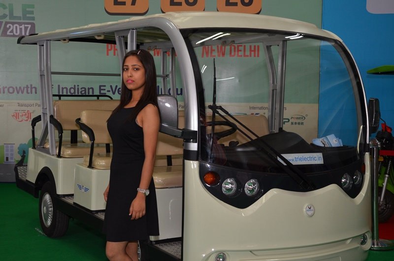 Eco-friendly, innovative electric vehicles evoke good response