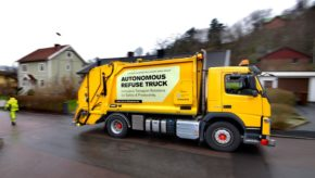 Volvo pioneers autonomous, self-driving refuse truck in urban environment