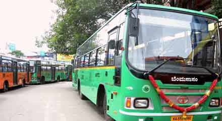 Tata Motors delivers 30 buses to BMTC