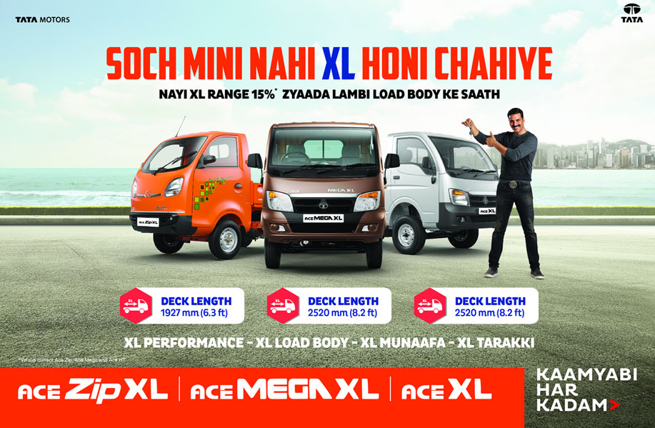 Tata Motors Introduces New Xl Range Of Small Commercial