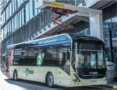 Volvo electric bus on UK demonstration tour
