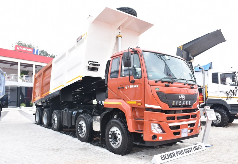 EICHER woos customers with '100% uptime' promise