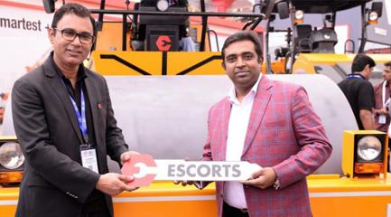 Escorts showcases India's safest Pick-n-Carry Crane