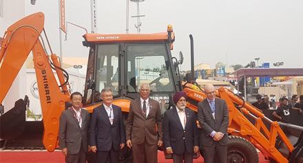 Tata Hitachi unveils all new backhoe loader SHINRAI