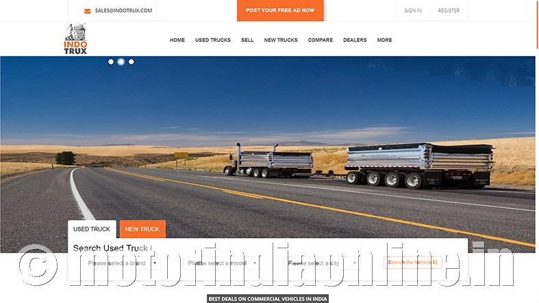 Norms Used Trucks >> Indotrux Structured Online Portal For Used Trucks
