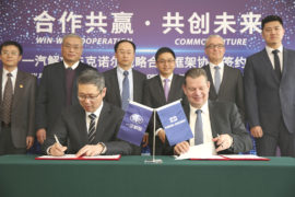 Knorr-Bremse signs agreement with FAW Jiefang