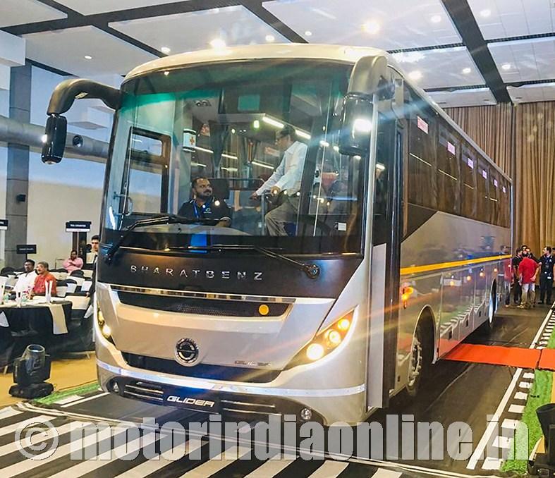 Autobahn Launches Bharatbenz 16 Tonne Luxury Coach Glider