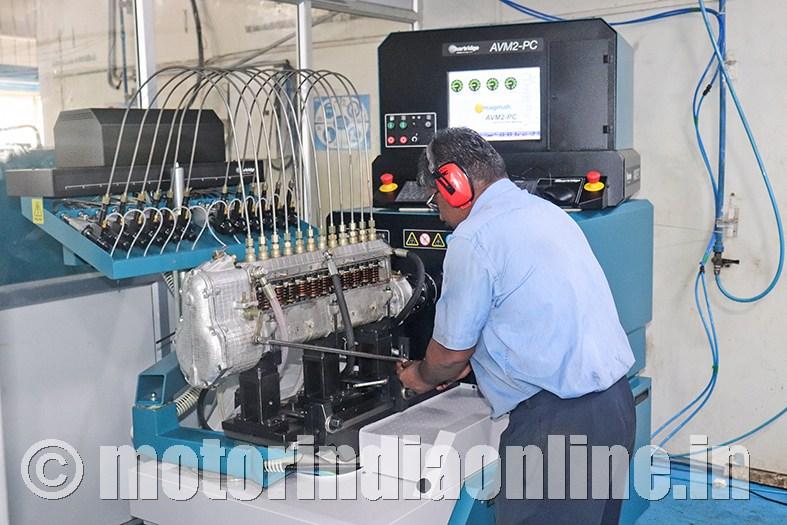 devendra autocom  supply complete fuel pumps  engine factory avadi