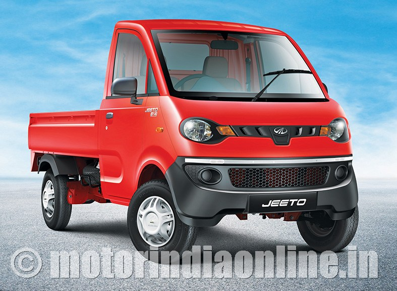 Mahindra rolls out 1,00,000th 'Jeeto' mini-truck