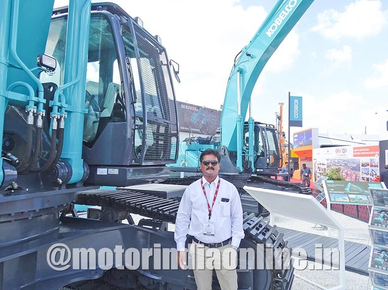 Kobelco showcases 52-ton class mining-friendly excavator