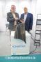 Mr. Johannes Herrmann, CEO, Herrmann Lack-Technik GmbH, and Mr. David Lynes, Sales Manager Europe, Herrmann Lack-Technik GmbH